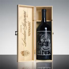 Cassa legno vino Capo di Stato Magnum