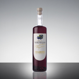 Liquore di Mirtillo con frutto 25° 70cl