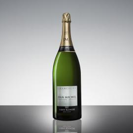 """Jean Michel Champagne """"Carte Blanche"""" litri 3.00 in cassa legno"""