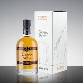 Grappa Reale Barrique in astuccio 50cl