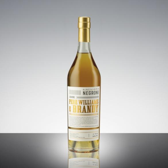Liquore Pere Williams e Brandy