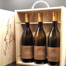 """Chardonnay """"PARTICELLA 3"""" Collio D.O.C. collezione 2016-2017-2018 in cassa legno"""